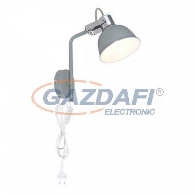 GLOBO 54640-1W GERDA  Fali lámpa , 25W , E14 , matt szürke , króm