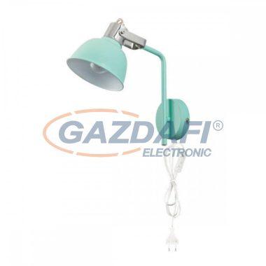 GLOBO 54641-1W ROLI  Fali lámpa , 25W , E14 , menta , króm