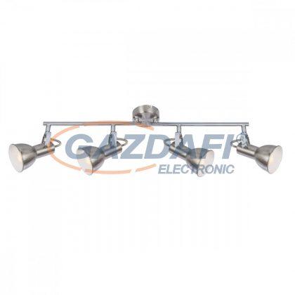 GLOBO 54642-4 Fargo Mennyezeti lámpa , 40W ,  4x E14 , nikkel matt , króm