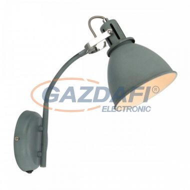 GLOBO 54646S JONAS Fali lámpa , 40W , E14 , szürke , króm , fém fehér