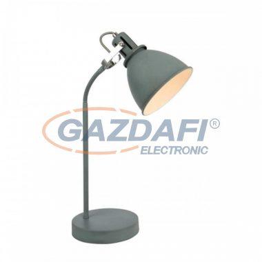 GLOBO 54646T  JONAS Asztali lámpa , 40W , E14 , szürke , króm , fém fehér