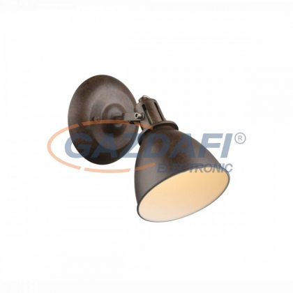 GLOBO 54647-1 Giorgio Fali lámpa , 40W , E14 , rozsda hatású, fém fehér
