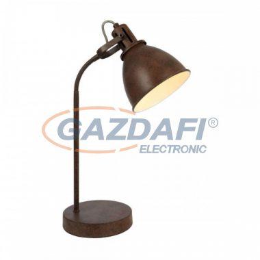 GLOBO 54647T GIORGIO Asztali lámpa , 40W , E14 , rozsda hatású , fém fehér