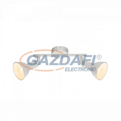 GLOBO 54648-2  Caldera Mennyezeti lámpa , 40W , E14 , arany lencse , fém fehér