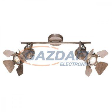 GLOBO 54650-1T  EGON Mennyezeti lámpa , 50W , GU10 , rozsda hatású