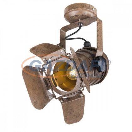 GLOBO 54650-1W EGON Mennyezeti lámpa , 60W , E27 , rozsda hatású