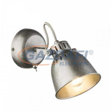 GLOBO 54651-1 HERNAN Fali lámpa , 40W , E14 , antik ezüst