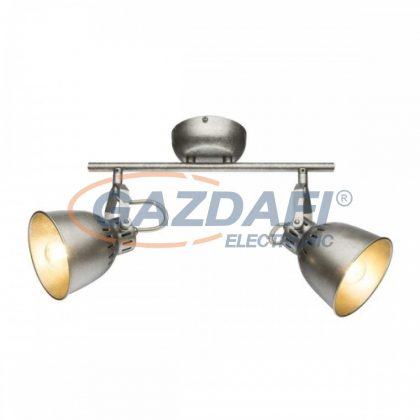 GLOBO 54651-2 HERNAN Mennyezeti lámpa , 40W , 2x E14 , antik ezüst