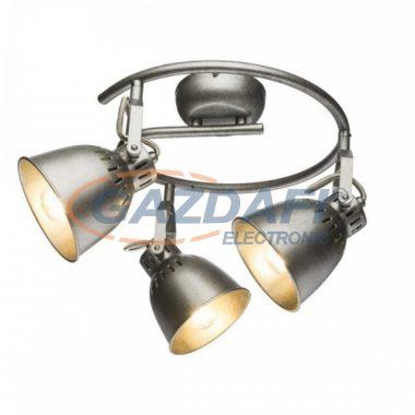 GLOBO 54651-3 HERNAN Mennyezeti lámpa  , 40W , 3x E14 , antik ezüst