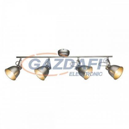GLOBO 54651-4 HERNAN Mennyezeti lámpa , 40W , 4x E14 , antik ezüst