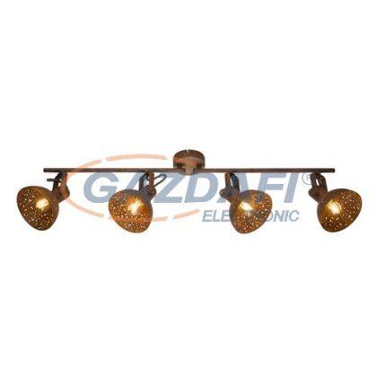 GLOBO 54652-4 CELINE Mennyezeti lámpa , 25W , 4x E14 , rozsda hatású