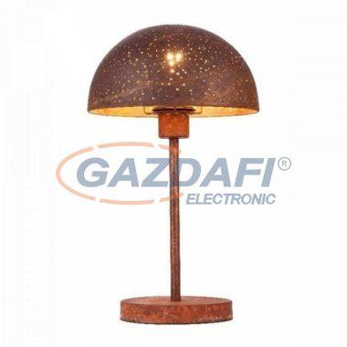 GLOBO 54652T CELINE Asztali lámpa , 40W , E27 , rozsda hatású ,  textil kábel