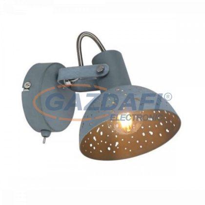 GLOBO 54653-1 FABIAN Fali lámpa , 25W , E14 , szürke , króm