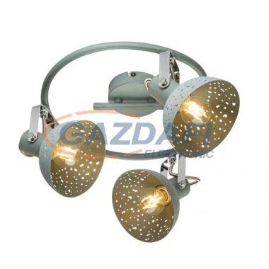 GLOBO 54653-3 FABIAN Mennyezeti lámpa , 25W , 3x E14 , szürke , króm