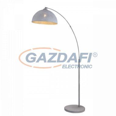 GLOBO 54653S FABIAN Állólámpa , 60W , E27 , antik szürke , textil kábel