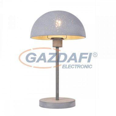 GLOBO 54653T FABIAN Asztali lámpa , 40W , E27 , fémszürke , textilkábel