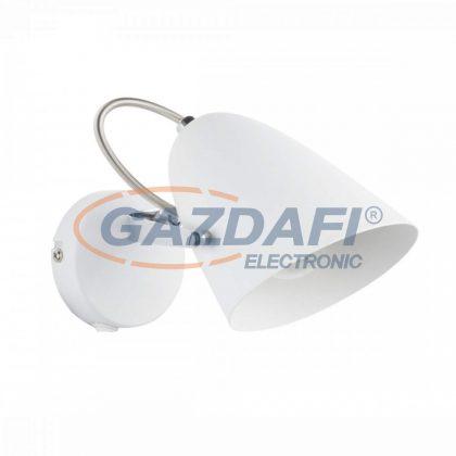 GLOBO 54654-1 ARMECA  Fali lámpa, 40W , E14 , fém fehér , króm