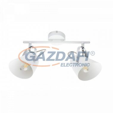 GLOBO 54654-2 ARMECA Mennyezeti lámpa, 40W , 2x E14 , fém fehér , króm