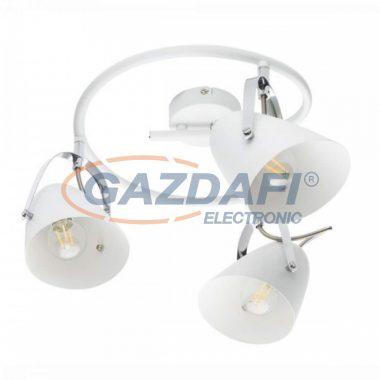 GLOBO 54654-3 ARMECA Mennyezeti lámpa , 40W , 3x E14  , fém fehér , króm