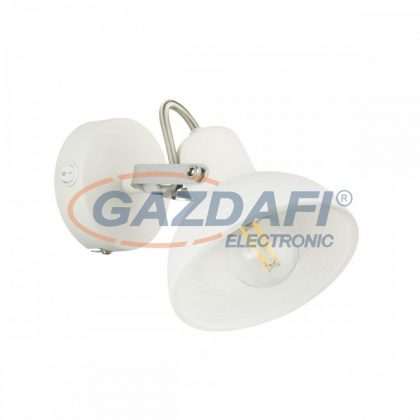 GLOBO 54657-1 AMORY Fali lámpa  , 40W , E14 , fém fehér , króm , üveg
