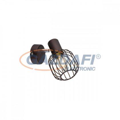 GLOBO 54801-1 Akin Fali lámpa  , 40W , E14 , bronz , króm