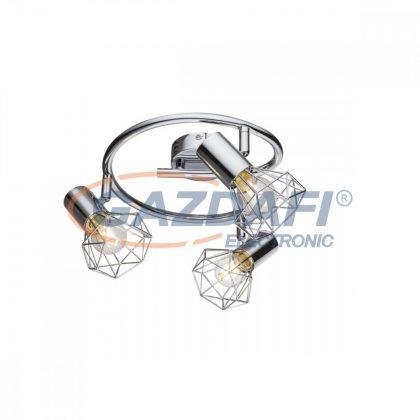 GLOBO 54802-3 Xara I Mennyezeti lámpa , 40W , 3x E14 , króm