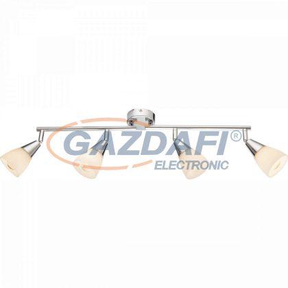 GLOBO 54919-4 TADEUS Mennyezeti lámpa , 40W ,  4x E14 , króm , üveg