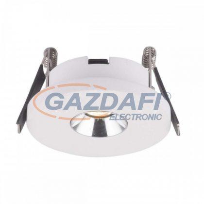 GLOBO 55010-1E CHRISTINE Mennyezeti lámpa, LED 4,2W , 3000 K , 200 Lm , beton , alumínium , króm