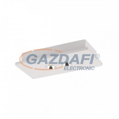 GLOBO 55010-2 CHRISTINE Mennyezeti lámpa , LED 7,4W , 3000 K , 390 Lm , gipsz , alumínium , króm
