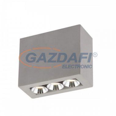 GLOBO 55011-3A TIMO Mennyezeti lámpa LED 6,6W  , 3000 K , 440 Lm , beton , króm/szürke