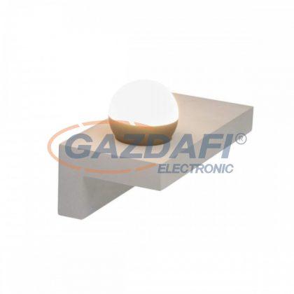 GLOBO 55011-W3 TIMO Fali lámpa , LED 7,7W , 3000 K , 690 Lm , beton , alumínium szürke , akril