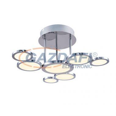 GLOBO 56005-28 Corsus Mennyezeti lámpa , 27W , 3000 K , 840 Lm , nikkel matt/akril