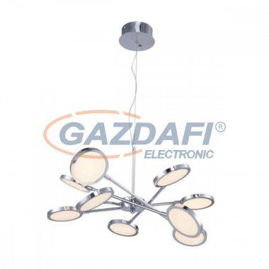 GLOBO 56005 Corsus Mennyezeti lámpa , 4W , 3000 K , 200 Lm , nikkel matt/akril
