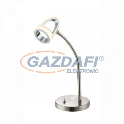 GLOBO 56006-1T RODRIK Asztali lámpa ,  LED 5W , 3000 K , 310 Lm , króm , nikkel matt , műanyag