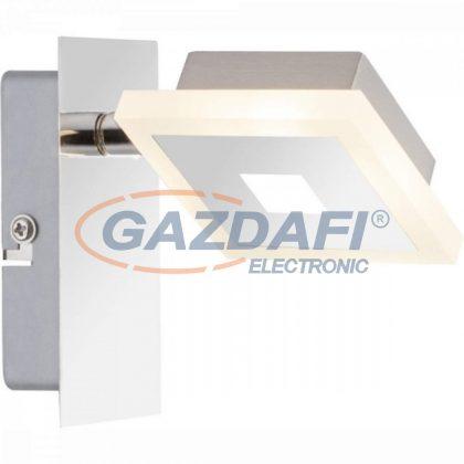 GLOBO 56111-1 GEROLF Fali lámpa , LED 5W , 3000 K , 210 Lm , króm , nikkel matt , akril