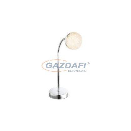 GLOBO 56127-1T Utila Asztali lámpa , LED 5W , 3000 K , 300 Lm , króm , akril , akril kristályok
