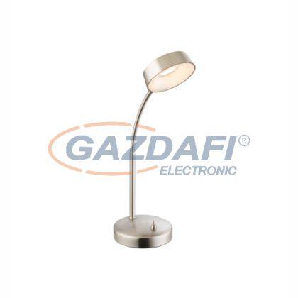 GLOBO 56132T Abril Asztali lámpa , LED 4,5W , 3000 K , 240 Lm , nikkel matt , műanyag
