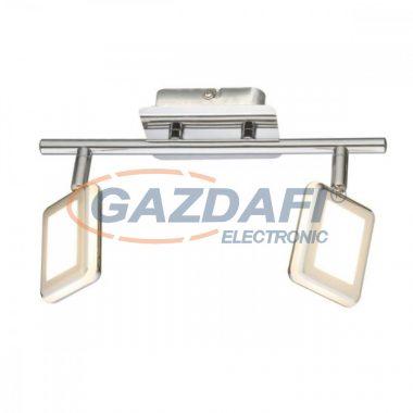 GLOBO 56223-2 TRYSTAN Mennyezeti lámpa ,  , 2x LED 4W , 3000 K , 2x 200 Lm , króm , műanyag