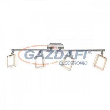 GLOBO 56223-4 TRYSTAN Mennyezeti lámpa , 4x LED 4W , 3000 K , 4x 200 Lm , króm , műanyag