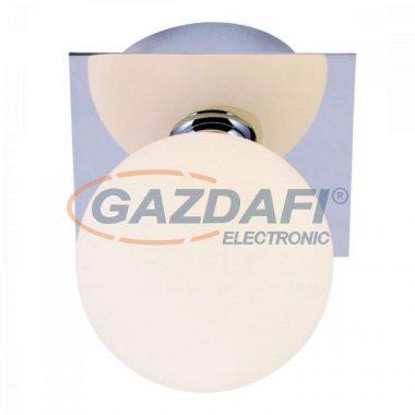 GLOBO 5663-1L CARDIFF Fali lámpa, LED 3W , G9 , 3000 K , 260 Lm , króm/ opál üveg