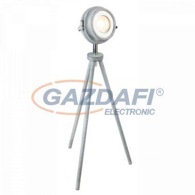 GLOBO 57301T MYCAH Asztali lámpa , LED 5W , GU10 , 3000 K , 340 Lm , fém , beton optika , ezüst , króm