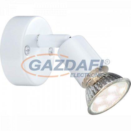 GLOBO 57381-1L OLANA Fali lámpa ,  LED 3W , GU10 , 3000 K , 250 Lm , fém fehér