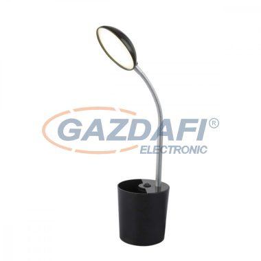 GLOBO 58201S COSMO Asztali lámpa , LED 6W , 4000 K , 350 Lm , műanyag, fém, ezüst