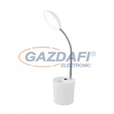 GLOBO 58201W COSMO Asztali lámpa ,  LED 6W , 4000 K , 350 Lm , műanyag, fém, ezüst