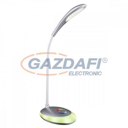 GLOBO 58265 Minea Asztali lámpa ,  LED 3W /RGB LED 1,4W/ , 5000K RGB, 230 Lm , műanyag