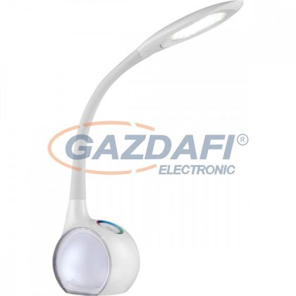 GLOBO 58278 TARRON Asztali lámpa ,  LED 5W /2x RGB LED 0,1W/ 5500K RGB , 280 Lm , műanyag, akril