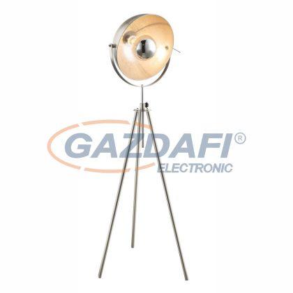 GLOBO 58306 Lenn-Nosy Álló lámpa , 60W , E27 ,  fém , nikkel matt / ezüst / króm