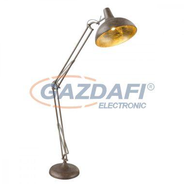 GLOBO 58322 CONNY Állólámpa , 60W , E27 , rozsda hatás/ arany