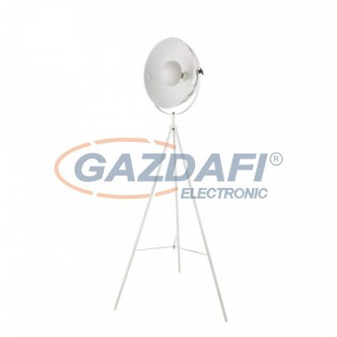 GLOBO 58323M SANDRA Állólámpa , 60W , E27 , fémfehér, fém márványoptika