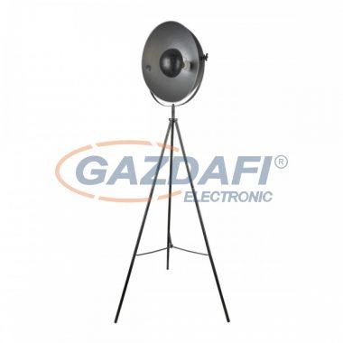 GLOBO 58323S  SANDRA Állólámpa , 60W , E27 , fém fekete, ezüst, arany